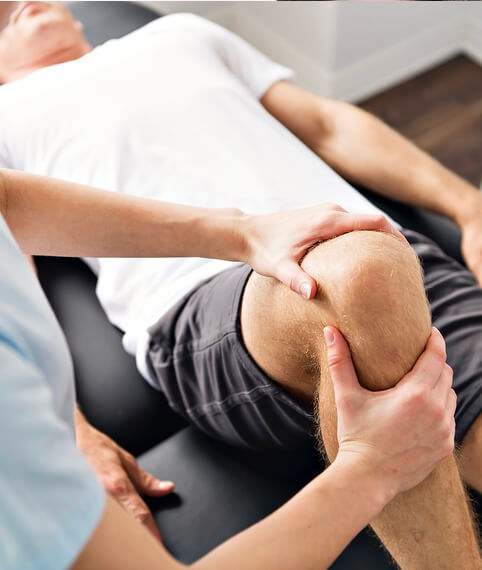 Physiotherapeut Behandlung